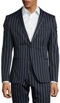 Selected Striped Suit Jacket