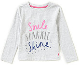 Joules Little Girls 3-6 Bessie Screen Print Top