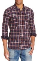 True Religion Plaid Workwear Slim Fit Button Down Shirt