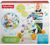 Fisher-Price NEW Learn With Me Zebra Walker