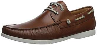 Driver Club USA Men's Mens Genuine Leather Made in Brazil Daytona Light Weight Boat Shoe Shoe
