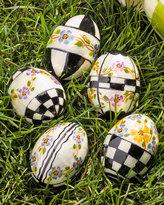 Mackenzie Childs MacKenzie-Childs 5 Violets Eggs
