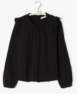 XiRENA The Lanie Top In Black - XS