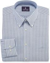 STAFFORD Stafford Long-Sleeve Travel Wrinkle-Free Oxford Dress Shirt