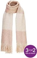 Very Lurex Thread Blanket Scarf