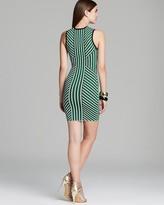 Torn By Ronny Kobo Dress - Lana Vertical Stripe