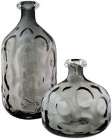 Bed Bath & Beyond Smoked Glass Vase