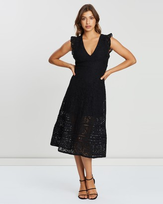 Atmos & Here Lace Maxi Dress