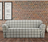 Sure Fit Closeout! Highland Plaid 1-Pc. Sofa Slipcover Bedding