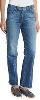 Theory Ossella Carlisle-Wash Denim Jeans, Indigo