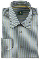 Robert Talbott Striped Woven Dress Shirt, Sky