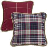 HIEND ACCENTS HiEnd Accents South Haven Reversible Plaid Decorative Pillow