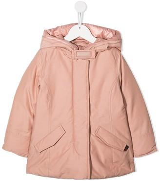 Woolrich Kids Hooded Coat