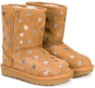 Ugg Kids Star print ugg boots
