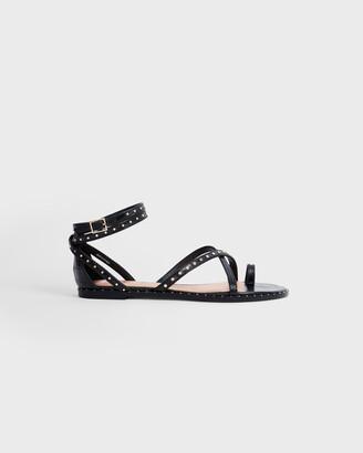 Ted Baker MATHAR Flat studded gladiator sandal
