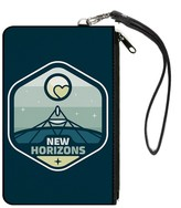 Buckle-Down Unisex-Adult's Canvas Coin Purse New Horizons