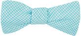 Petronius Men's Gingham Linen Bow Tie