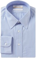 Roundtree & Yorke Gold Label Non-Iron Full-Fit Point Collar Solid Dress Shirt