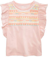 Epic Threads Flutter-Sleeve T-Shirt, Toddler Girls, Created for Macy's