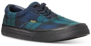 Polo Ralph Lauren Men's Tartan Thornton Shoes Men's Shoes