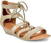 Børn Dakar Lace-Up Metaliic Sandals