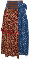 Marni Wrap skirt with ruffles
