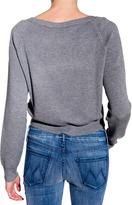 Alexander Wang Waffle Cropped Sweater