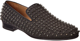 Christian Louboutin Roller Boy Spikes Loafer