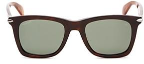 Rag & Bone Men's Polarized Square Sunglasses, 60mm