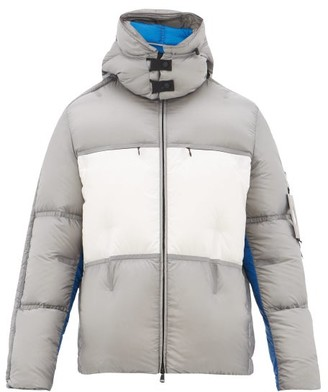 5 Moncler Craig Green - Coolidge Colour-blocked Down-filled Jacket - White Silver
