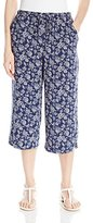 C&C California Women's Printed Culotte Pant