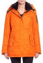 G-Lab Mayfair II Fur-Collar Coat