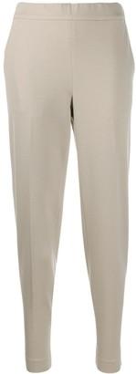 Fabiana Filippi Elasticated-Waist Tapered Trousers
