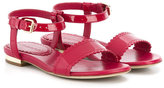 Burberry buckled sandals - kids - Leather/rubber - 23