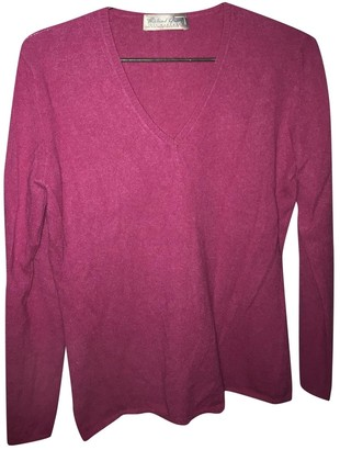 Non Signé / Unsigned Non Signe / Unsigned Pink Cashmere Knitwear for Women