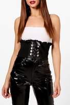 boohoo Molly Elasticated Corset Belt