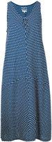 Blue Blue Japan polka dot dress - women - Linen/Flax/Rayon - S