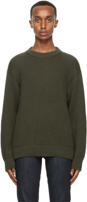 Nudie Jeans Khaki Frank Sweater