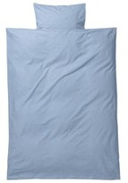 ferm LIVING Light Blue Hush Bedding Junior Set