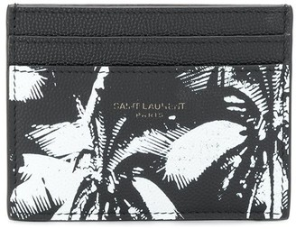 Saint Laurent Palm Tree Card Holder