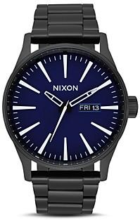 Nixon Sentry Ss Blue Watch, 42mm