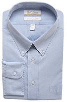 Roundtree & Yorke Gold Label Big & Tall Non-Iron Solid Regular Full-Fit Button-Down Collar Dress Shirt