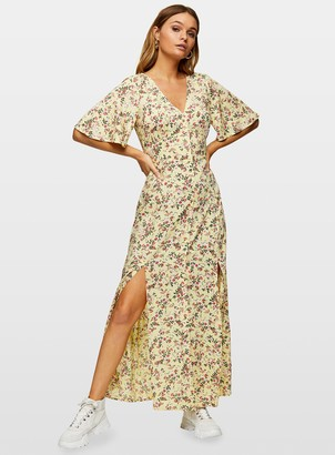 Miss Selfridge ELENA Button Maxi Dress