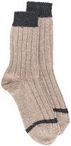A.P.C. ribbed knit socks
