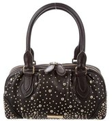 Burberry Medium Studded Bowling Bag