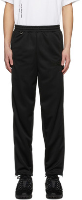 Doublet Black Chaos Embroidery Sweatpants