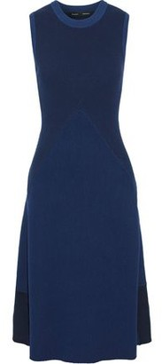 Proenza Schouler Color-block Ribbed-knit Dress