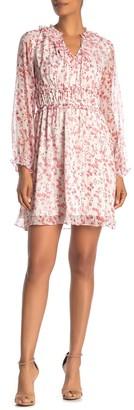 Cece By Cynthia Steffe Heirloom Floral Ruffle Dress (Regular & Plus Size)