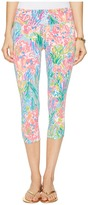 Lilly Pulitzer UPF 50+ Luxletic Weekender Cropped Pant Women's Casual Pants