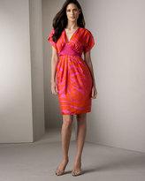 Tie-Back Silk Dress